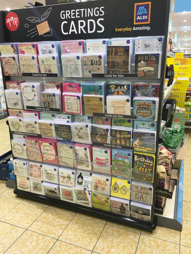 Card Factory In Trials With Aldi Selling Cards In 12 Stores Pg Buzz