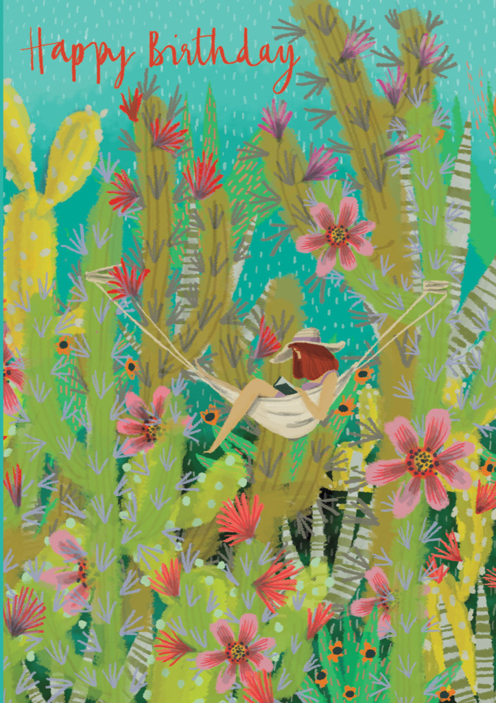 Jane Newland's work artistic heritage continues on cards with Roger la Borde.