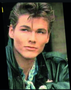 Above: A-ha's lead singer Morten Harket still does it for Janey.