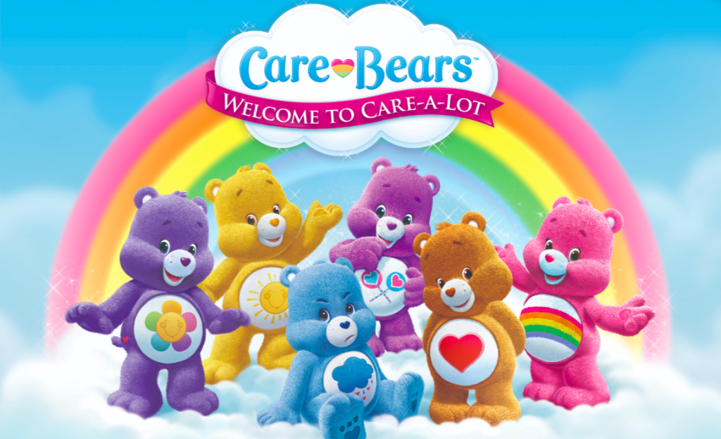Care Bears is another of Cloudco's brands.