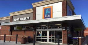 Above: Aldi is currently testing a card selection from IG Design group in 10 stores.