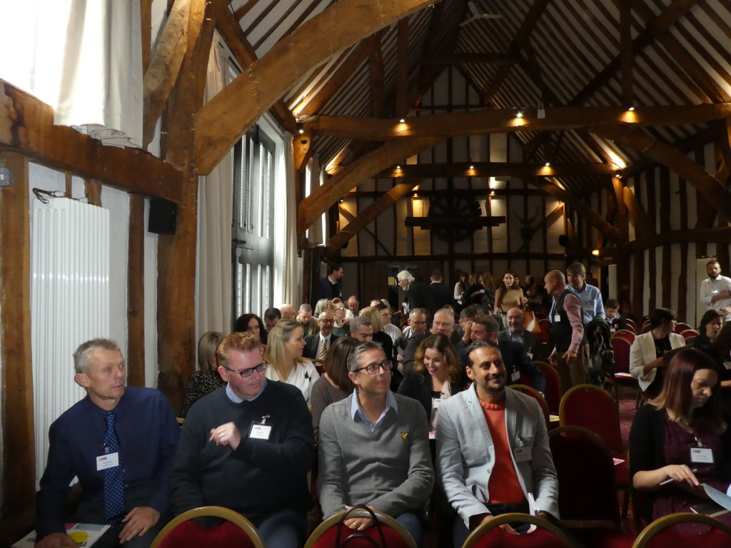 Above: Well over 100 members of the greeting card community attended this year's GCA AGM & Conference.