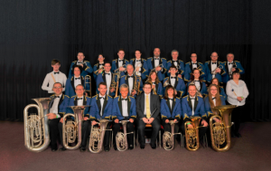 Above: Golborne Brass Band will be playing at the opening of Northwest Greeting Cards this Sunday (October 14).