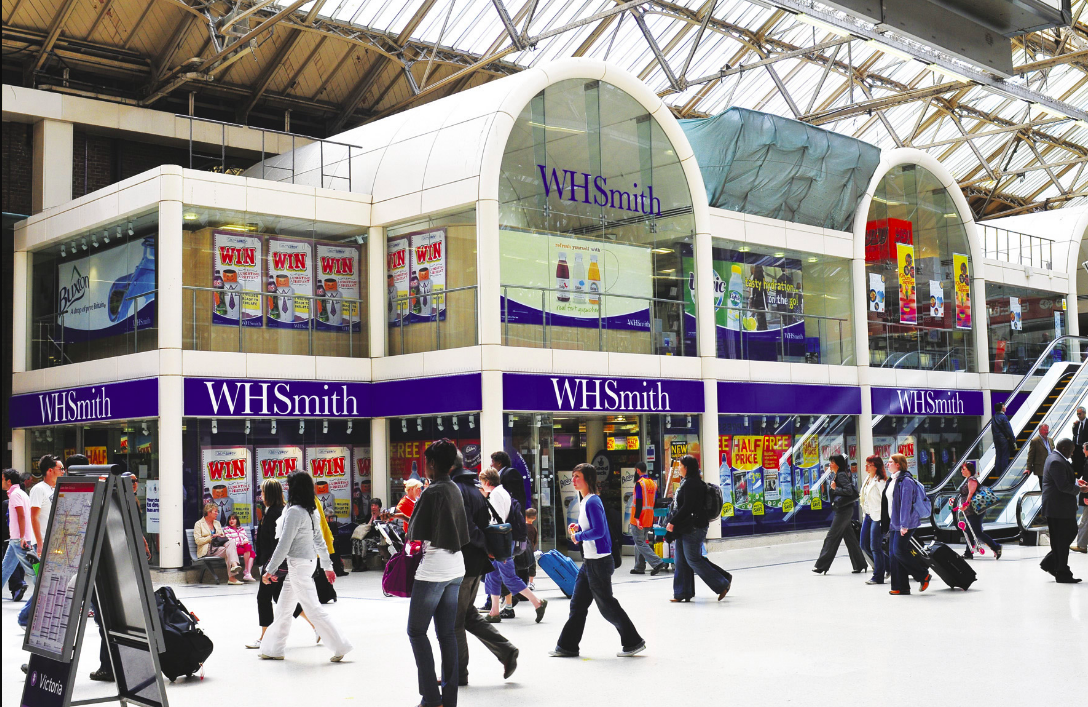 Above: WHSmith's Travel stores continue to perform very well.