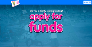 Above: The Light Fund is open for online submissions from charities of projects to fund.