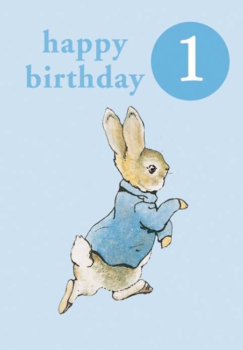 Above: A lovely Beatrix Potter badge card from Hype.
