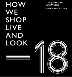 Above: The front of the new John Lewis & Partners report.