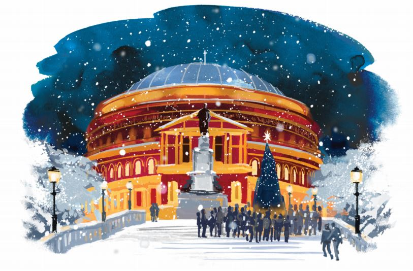 Hallmark Stages A Christmas Card Exhibition In The Royal Albert Hall ...