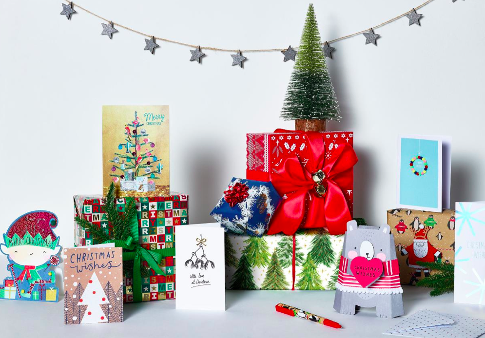 Above: Paperchase has already sold over 15,000 Christmas cards online this year.