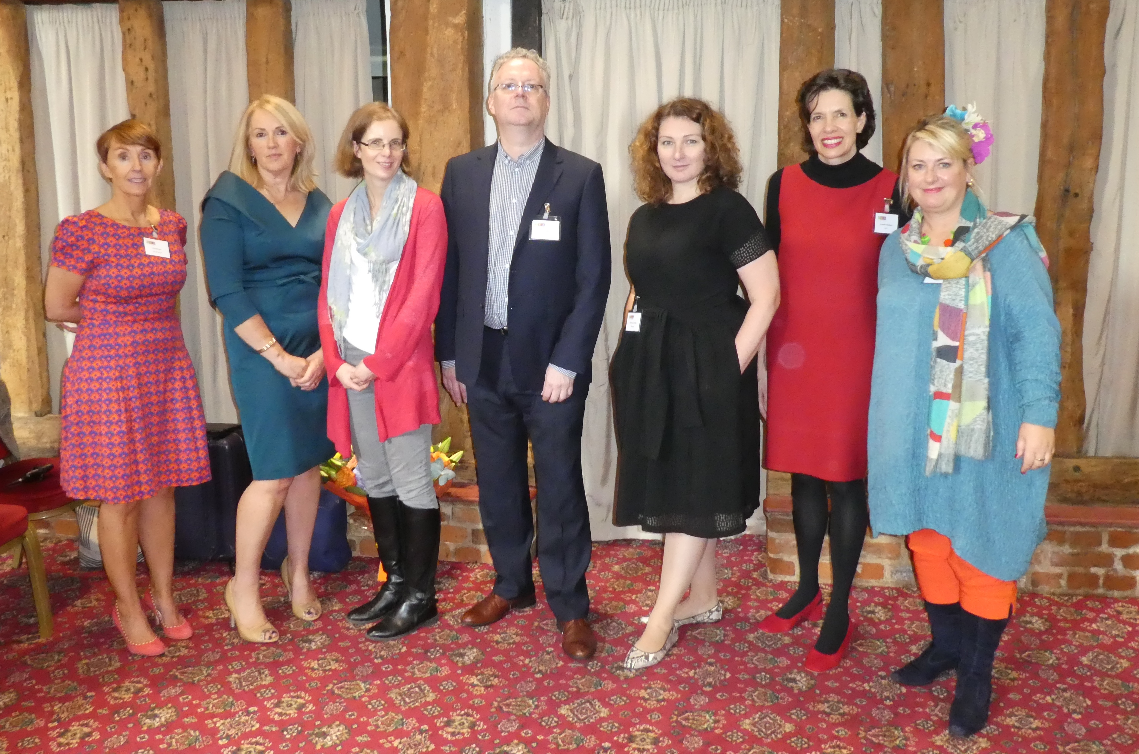 Above: UKG's Ceri Stirland (far left) at the GCA AGM with fellow speakers (2nd left-right) Karen Hubbard (Card Factory), Sue Morrish (The Eco-friendly Card Co), Geoff Sanderson (Moonpig), Sarah-Jane Porter (Moonpig), Amanda Fergusson (GCA) and Jakki Brown (PG/GCA).