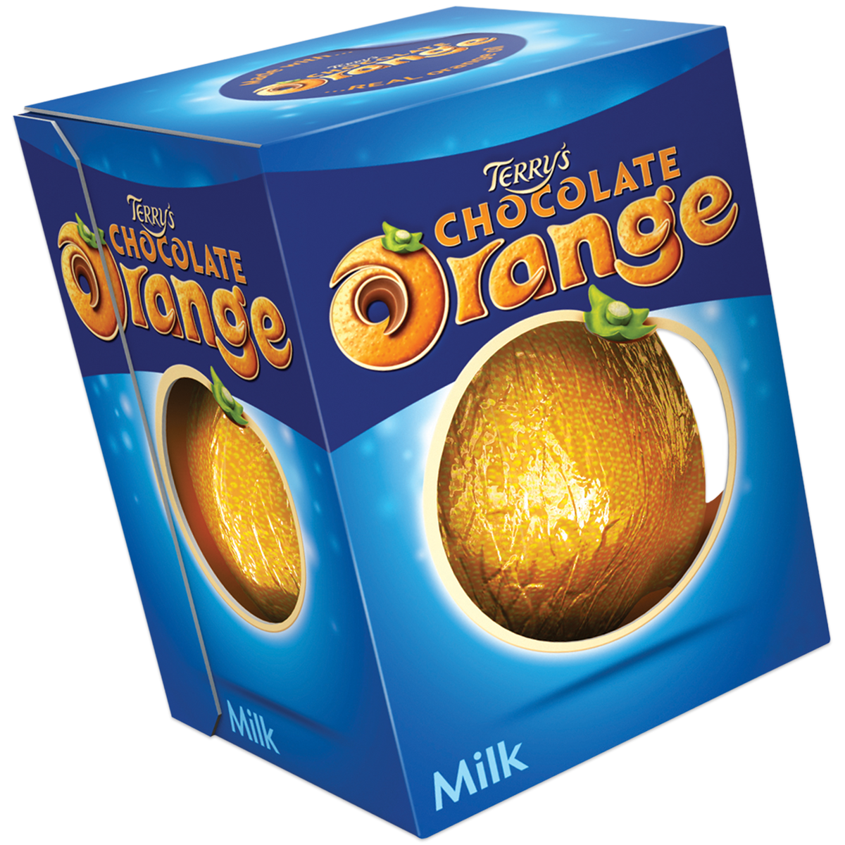 Above: It's a Terry's Chocolate Orange that hits the spot for Lizzie!