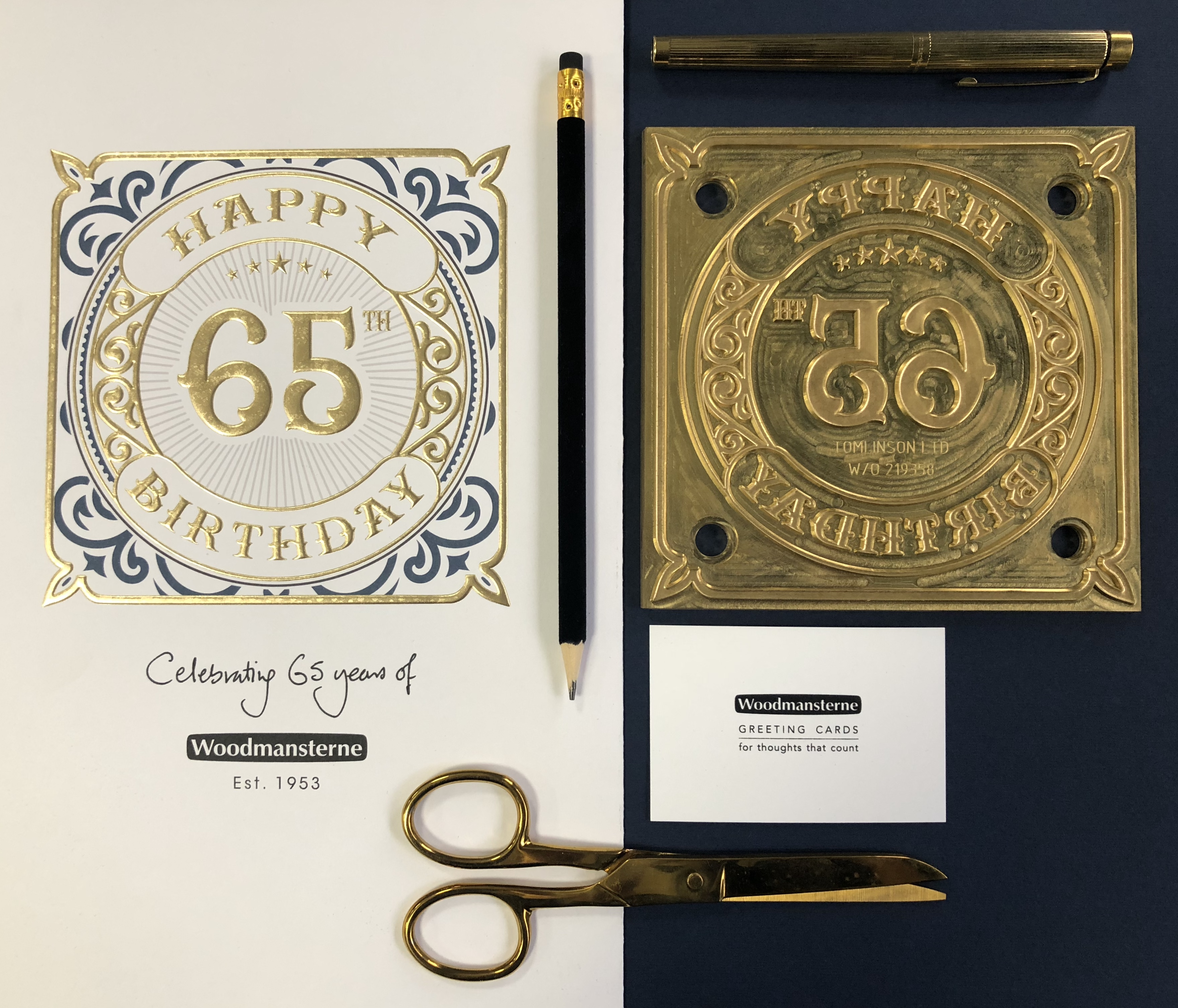 Above: This year Woodmansterne is celebrating the 65thanniversary of the company.