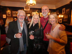 Above: (left-right) Scribbler's John and Jennie Procter with Really Good's David Hicks and GCA's Sharon Little at the latter's leaving drinks earlier this week.