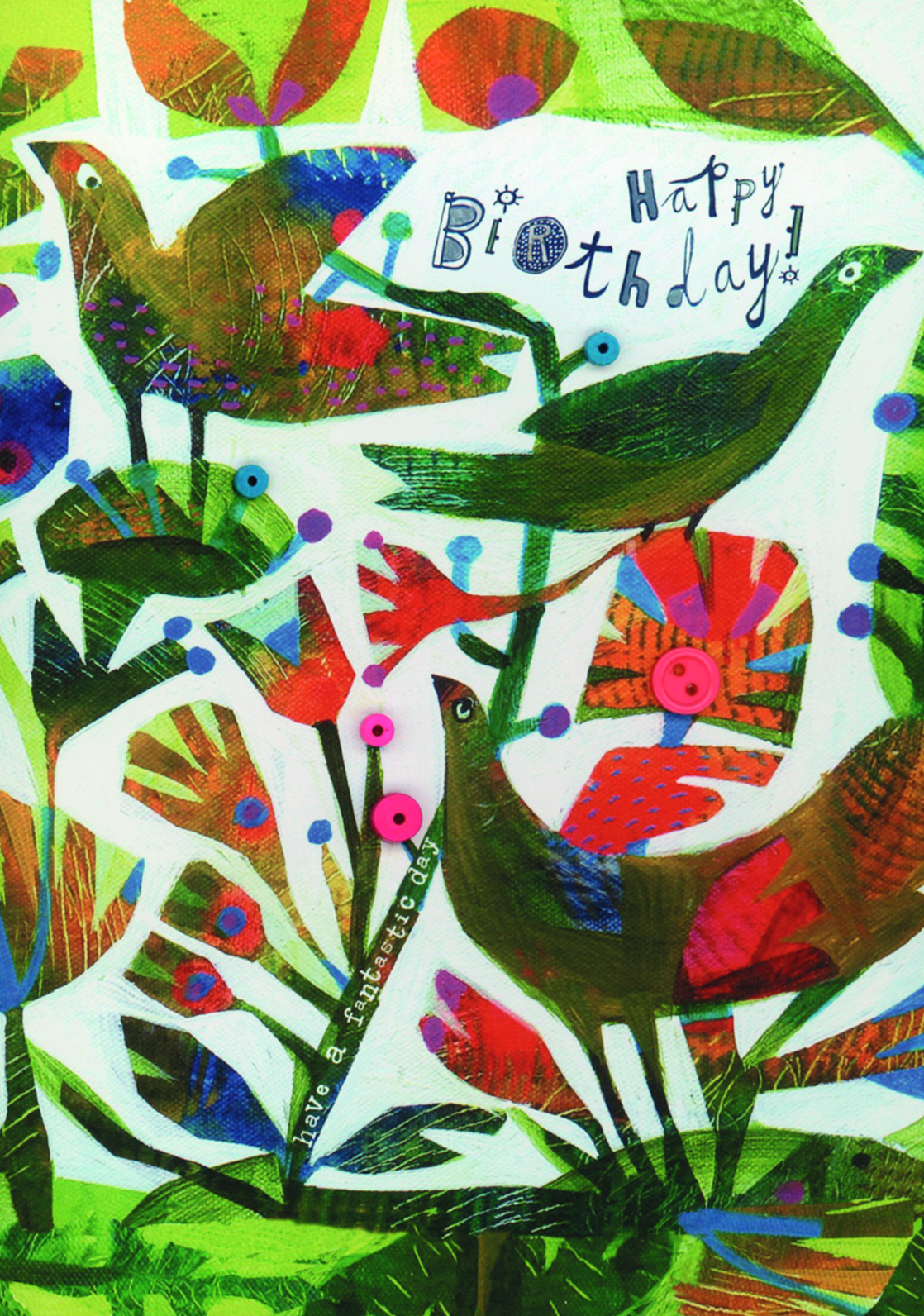 Above: Artist Este Macleod has been influenced by folk art styles. Her work is published by Cinnamon Aitch.