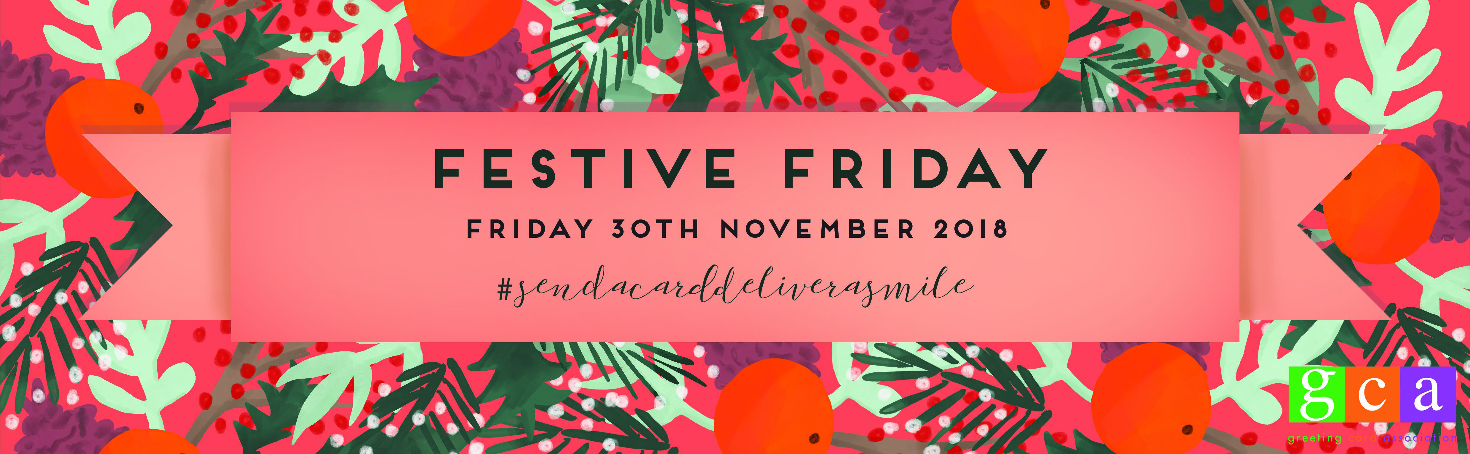 Above: The Art File very kindly developed the branding again for this year's Festive Friday, which included a downloadable toolkit.