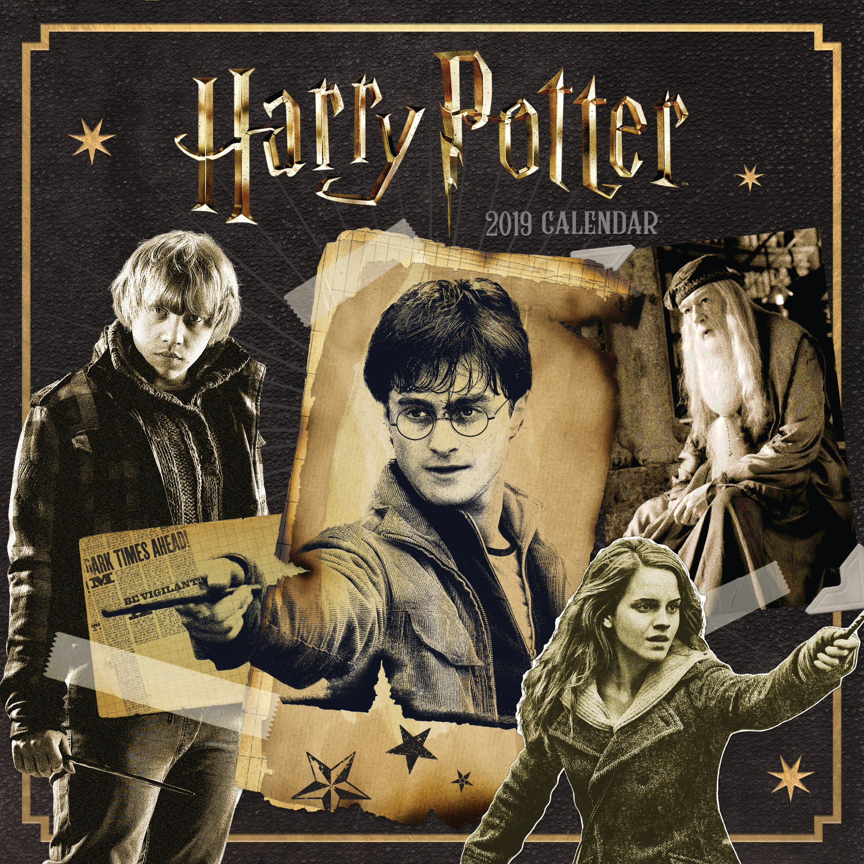 Above: The Harry Potter calendar sold 10% more than any other of Danilo's Top Ten entertainment titles.