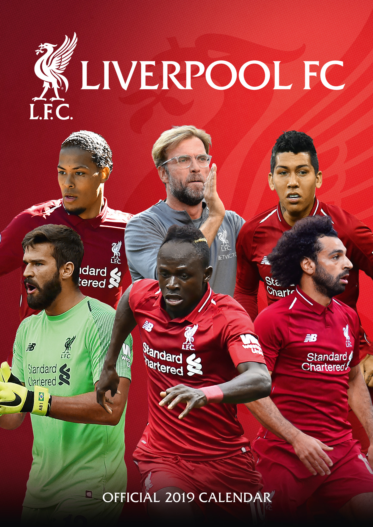 Above: Liverpool came top of Danilo's football/sports calendar 'league'.