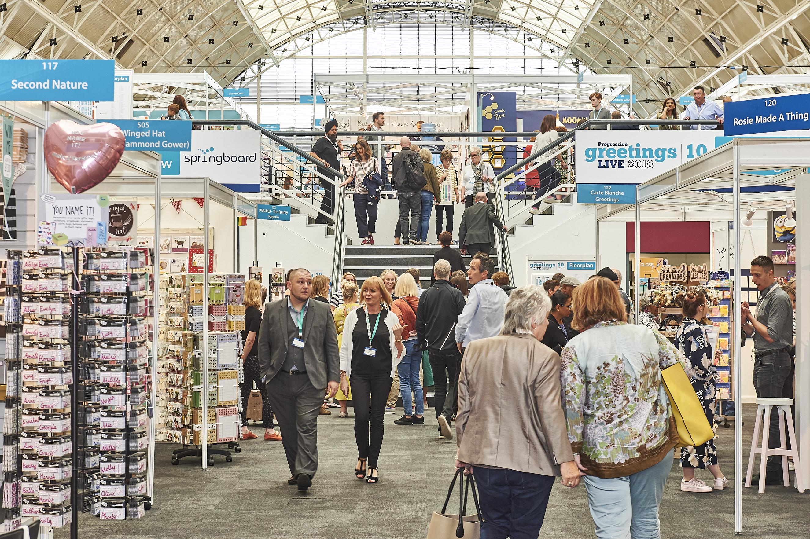 Above: Even with seven months to go, the exhibitor line-up for PG Live 2019 looks really strong.