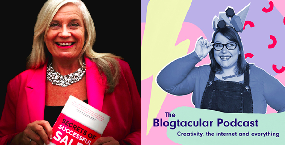 Above: Among the speakers will be Alison Edgar, author of Secrets of Successful Sales (left) and Blogtacular  founder Kat Molesworth.