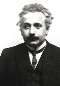 Above: Einstein turns serious to funny on a Lenticular card from Schnucki Images.