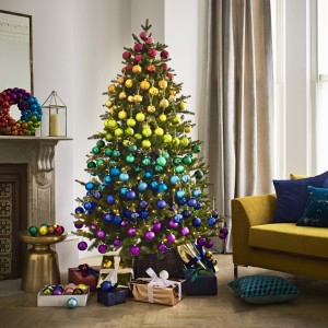 Above: It was a colourful and successful Christmas for John Lewis & Partners.