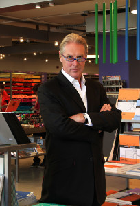 Above: Timothy Melgund, Paperchase's deputy chairman confirmed that greeting card sales were outperforming footfall for the multiple.