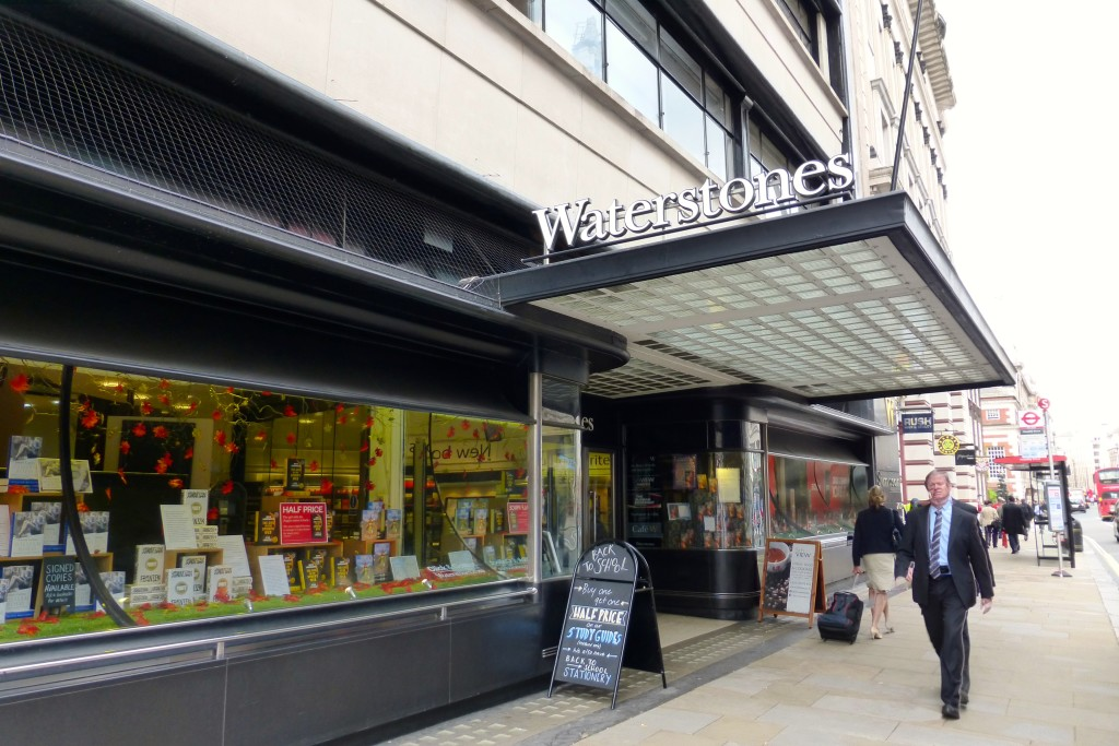 Above: Waterstones saw a big increase in its Christmas box sales.