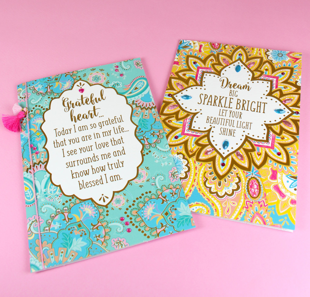 Above: Two designs from the Lisa Pollock range from Henderson Greetings.
