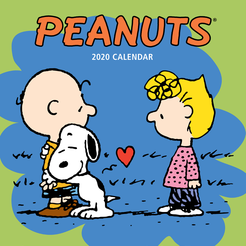 Above: A Peanuts calendar from BrownTrout.