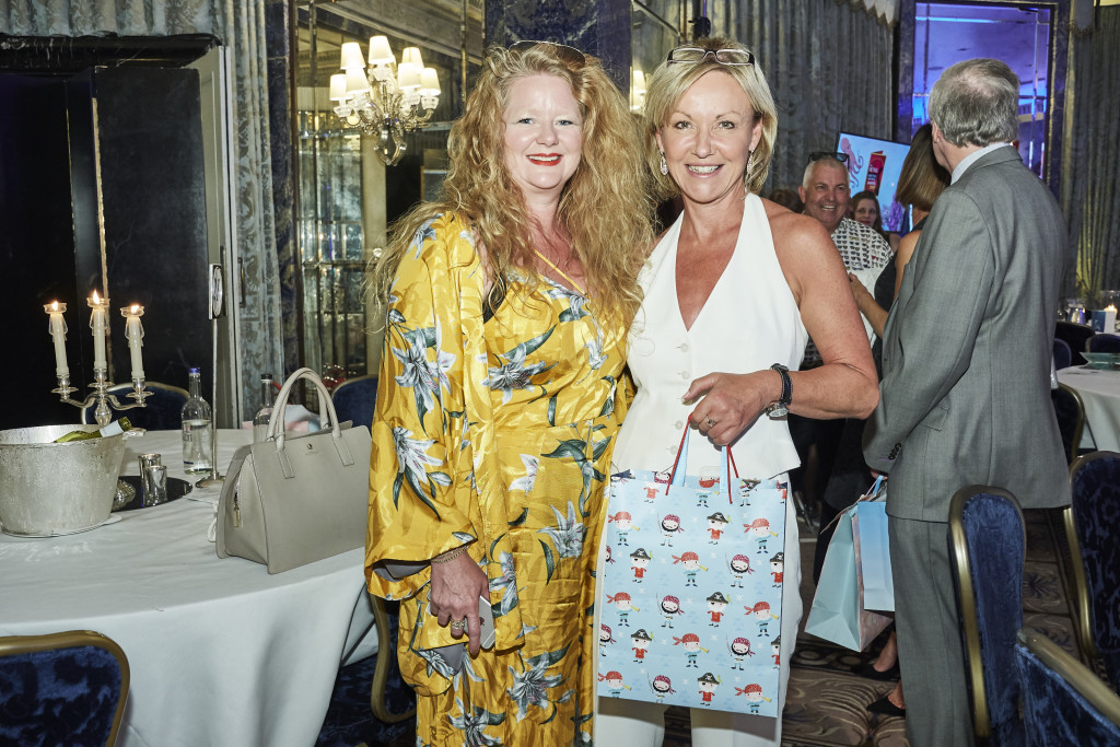 Above: Cherry Orchard's md Jackie Collins (right) with creative director Beverley Fisher at The Retas awards event.