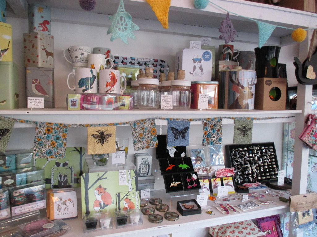 Above: Full of gorgeous animal themed gifts, cards and homewares, Menagerie Makes, Walthamstow, London.