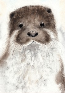 Above: Catherine Pain's Otter design has the ahh factor!