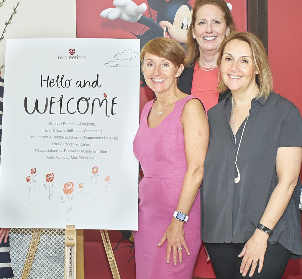 Above: UKG's Ceri Stirland (left) with Jayne Myers (centre) who took the decision to leave the business prior to the restructure but continued as commercial director in the transition and Lois Holcroft.