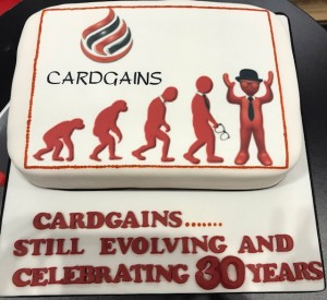 Above: The Spring Fair marked the official kick off for Cardgains' 30th anniversary celebrations that mark the buying group's continuing evolution.