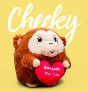 Above: One of the Valentines products being promoted by Clintons.