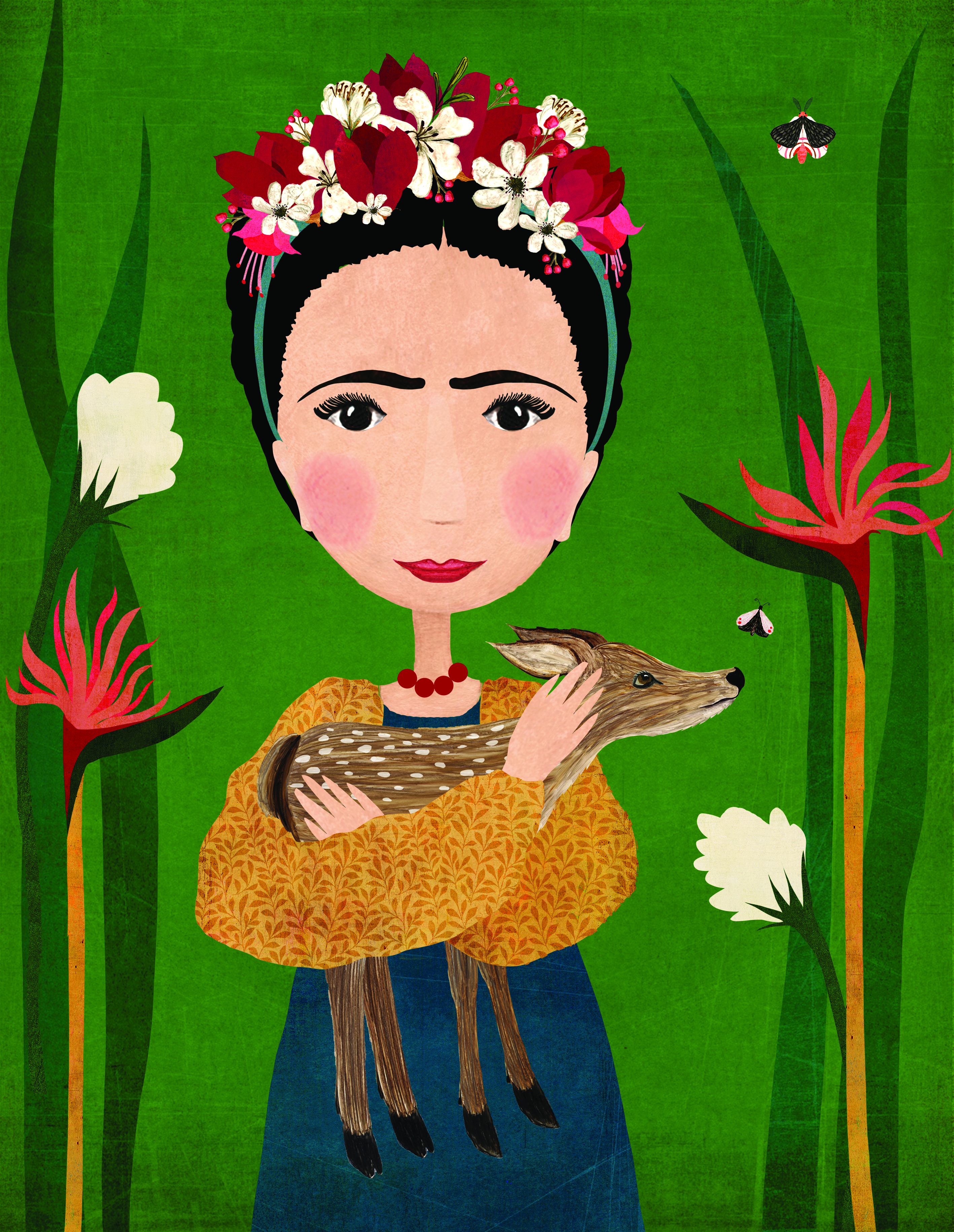 Above: Frida Kahlo by Katherine Quinn© courtesy of Jehane Ltd.