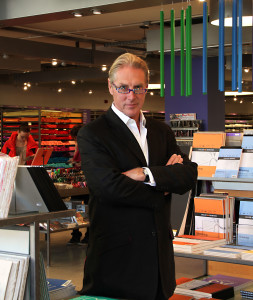 Above: Timothy Melgund, deputy chairman of Paperchase.