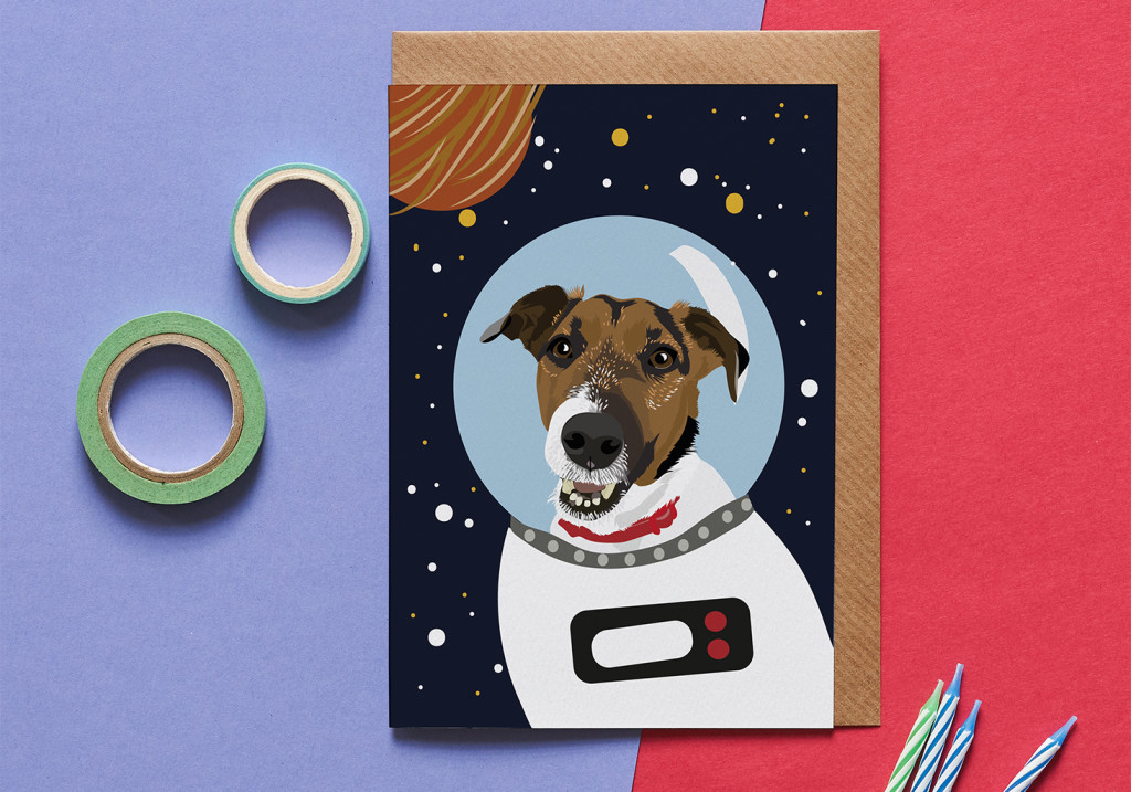 Above: Going boldly into space, Lorna Syson's Astro Pets range.