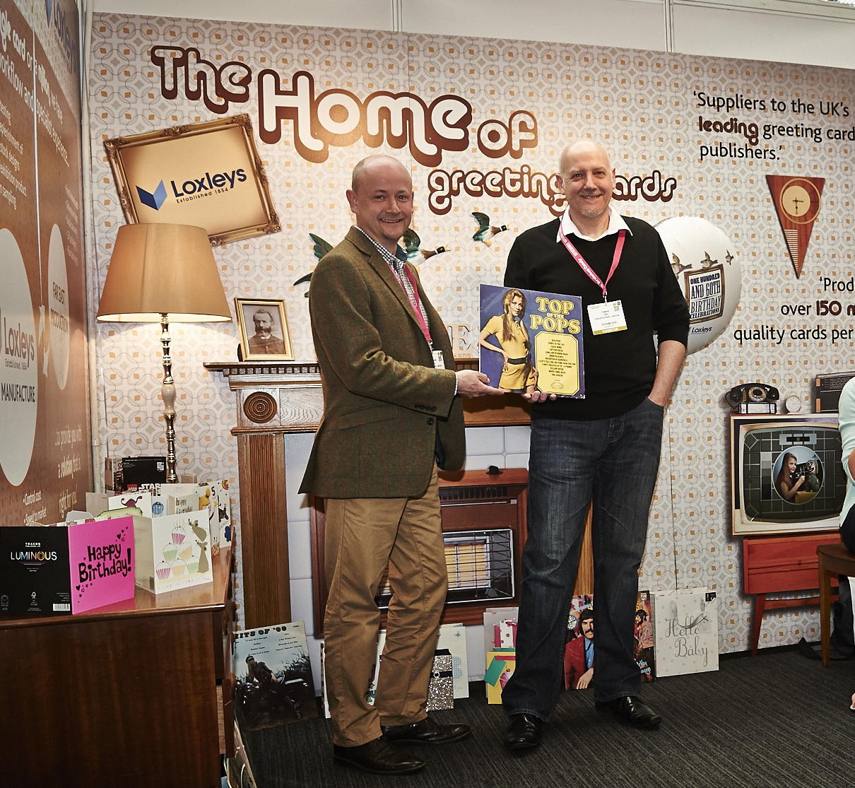Above: Craig Zelly (right) with Loxleys' ceo Richard Bacon.