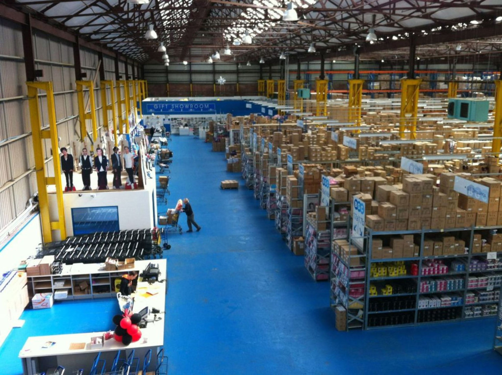 Above: A new Budget cash and carry is set to open in Nottingham.