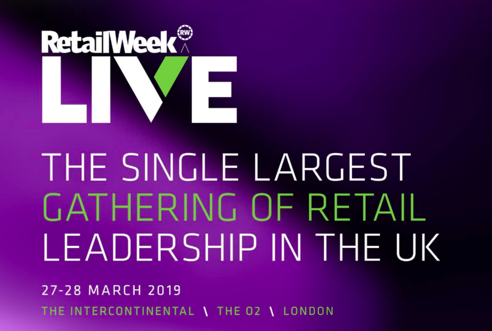 Above: The agenda is jam-packed at Retail Week Live.