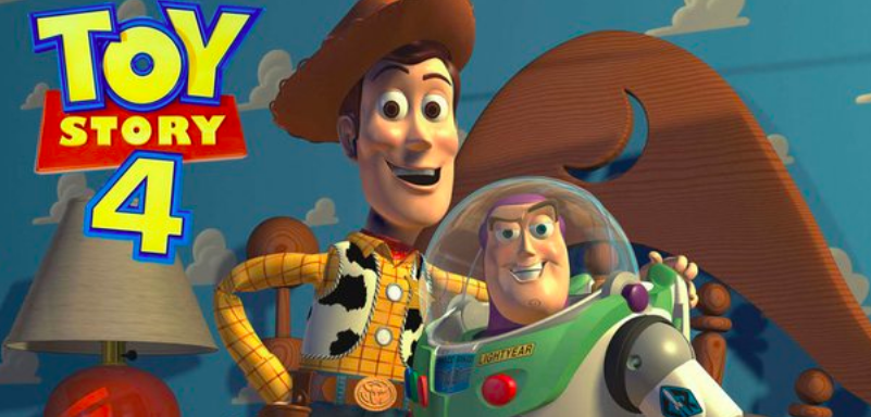 Above: As well as new characters, Woody and Buzz Lightyear are back!