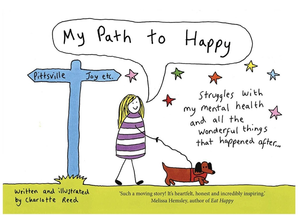 Above: Charlotte's new book My Path To Happy is set to launch on May 2.