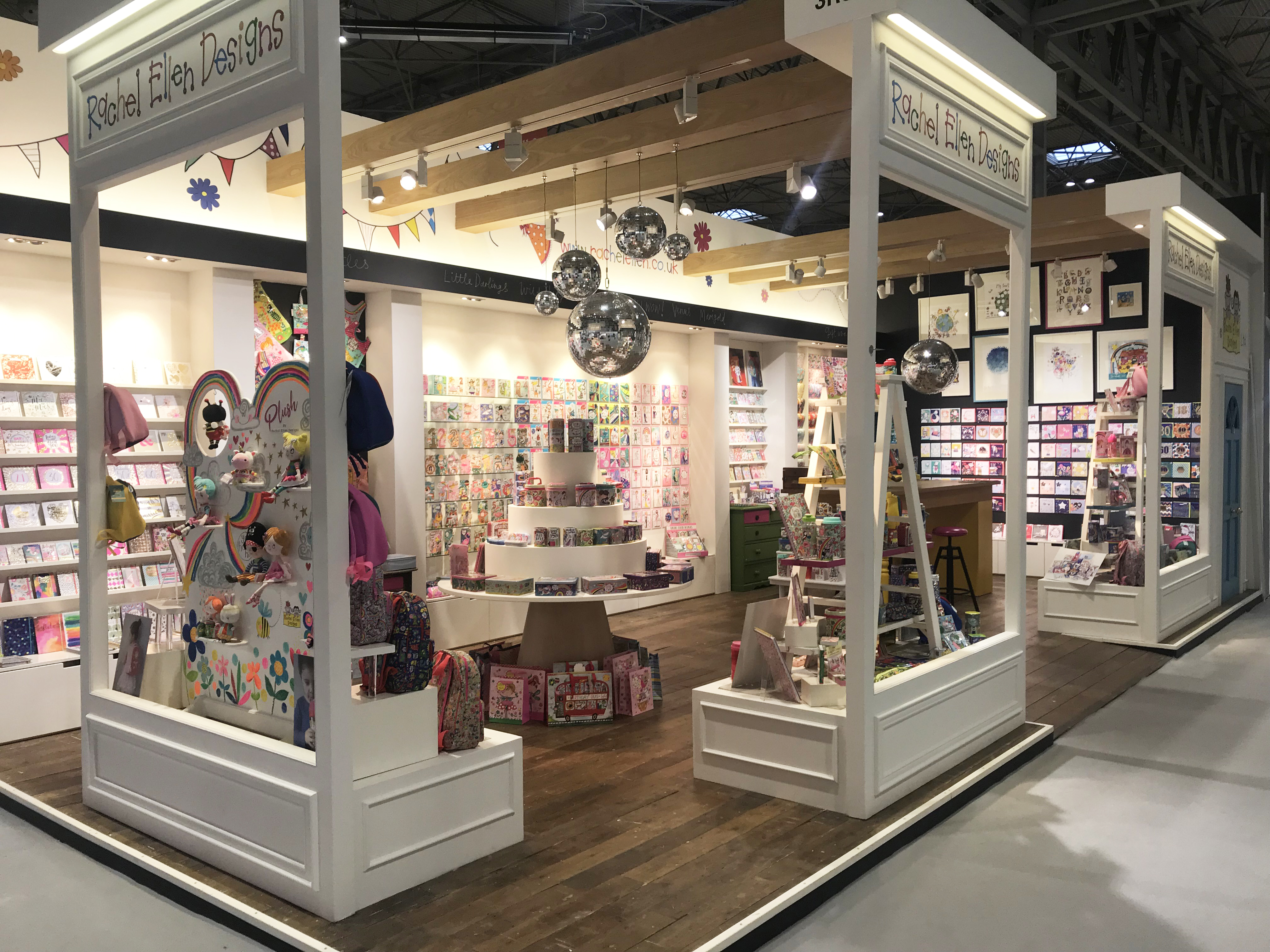 Above: The company's stand at this year's Spring Fair.