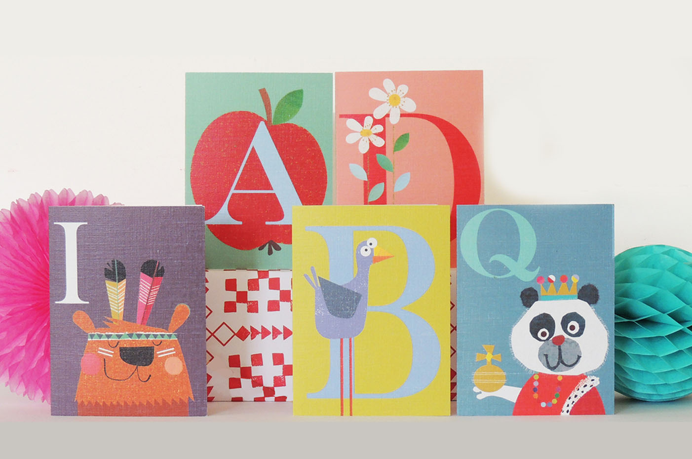 Above: Gorgeous cards for kids from Kali Stileman.