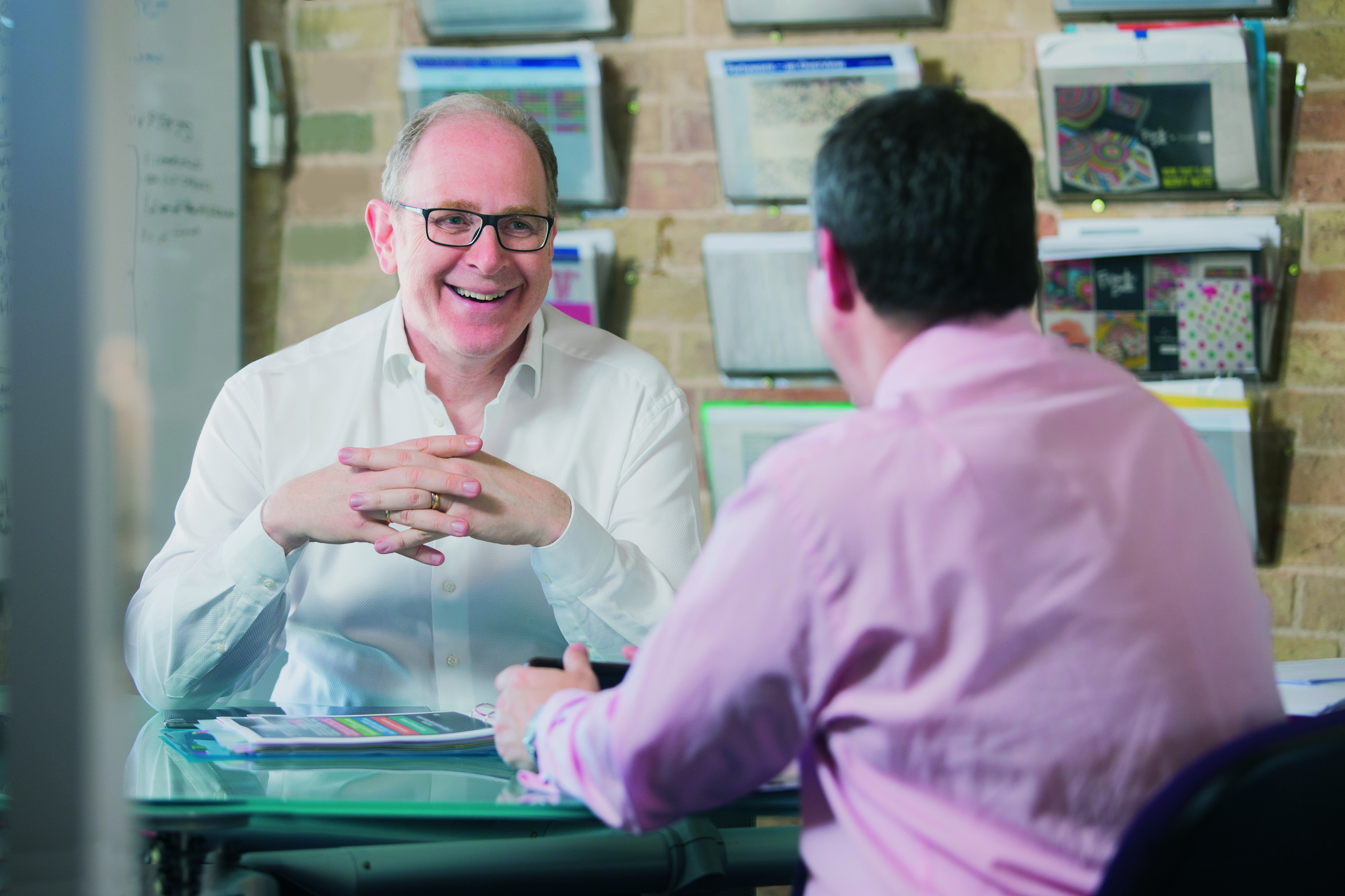 Above: Paul Fineman, the group's ceo is fairly optimistic of growth opportunities.
