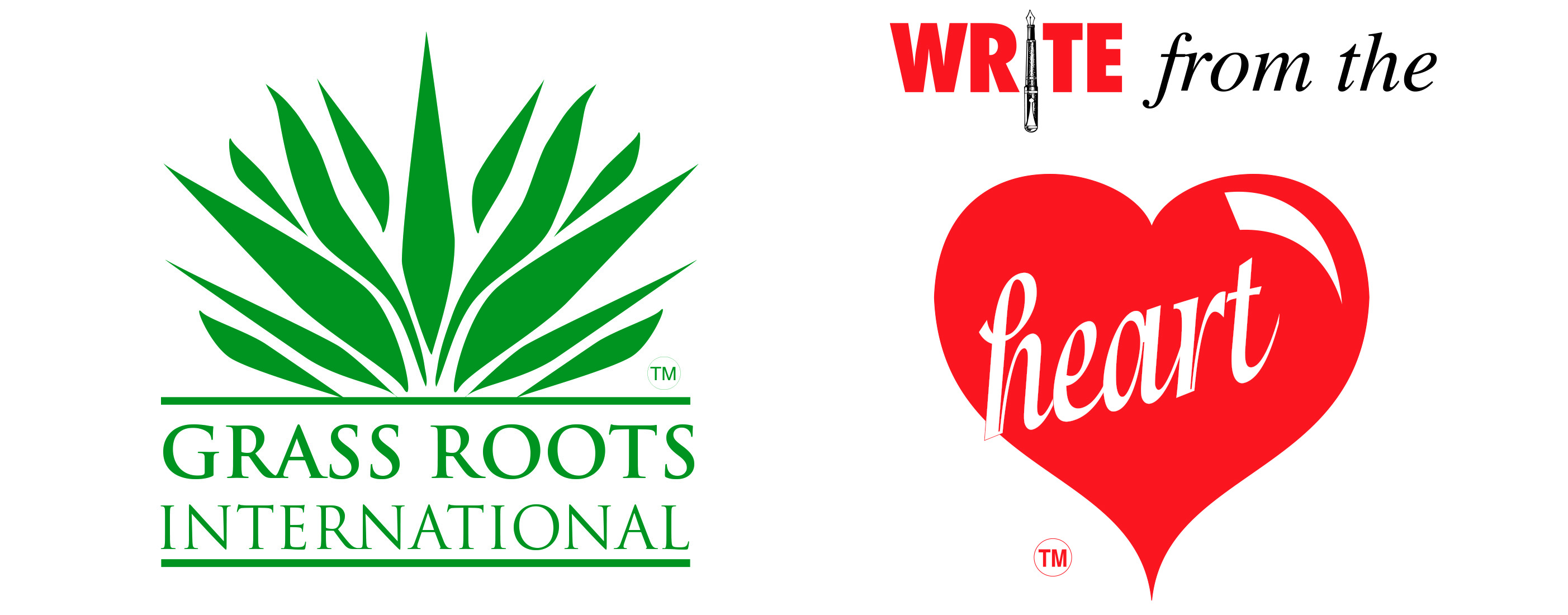 Above: The Grass Roots and Write from the Heart brand names are now owned by the Simon Elvin group.