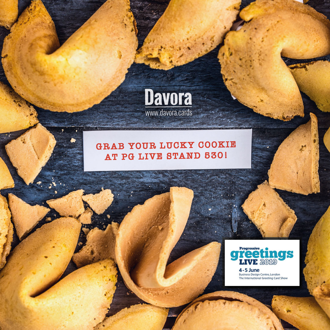 Above: Davora will be giving out fortune cookies.