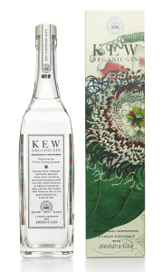 Above: One of the licensed gins being produced byThe London Distillery Company the packaging of which inspired Kelly.