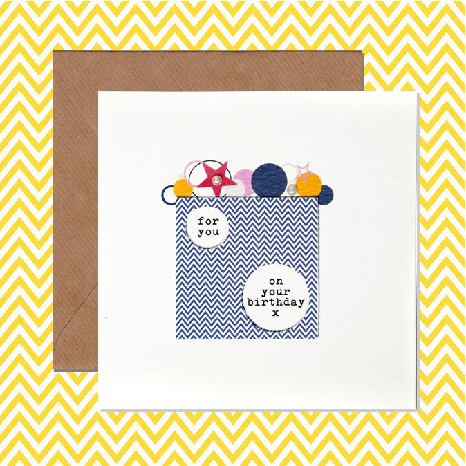 Above: Dilly & Pink's Bubbles range is created and printed in-house at Gifted.
